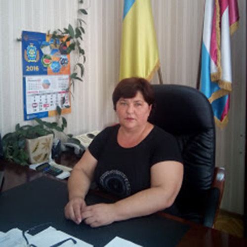 Натал_я Тарасова, Голова Верхньорогачицько_ районно_ державно_ адм_н_страц__