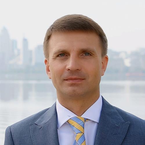 Гліб Пригунов, голова Дніпропетровської обласної ради