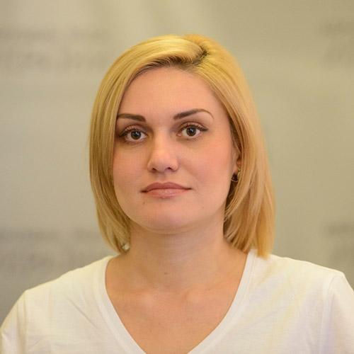 Тетяна Острікова, народний депутат України